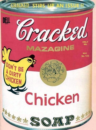 Cracked #108 • USA