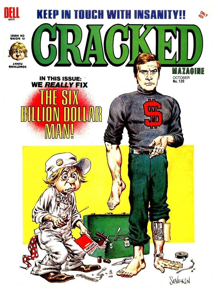 Cracked #120 • USA