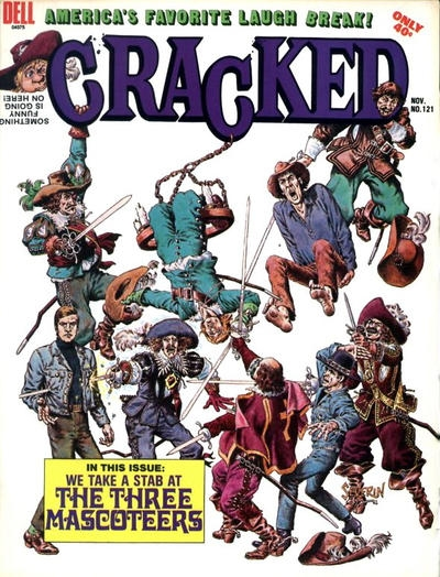 Cracked #121 • USA