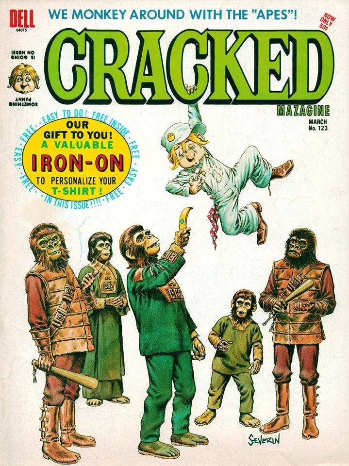 Cracked #123 • USA