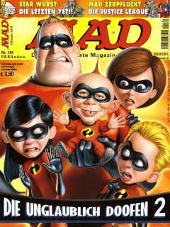 Go to MAD Magazine #184 • Germany • 2nd Edition - Dino/Panini