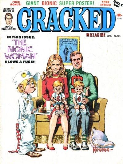 Cracked #135 • USA