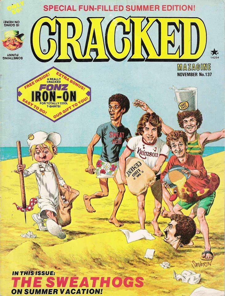 Cracked #137 • USA