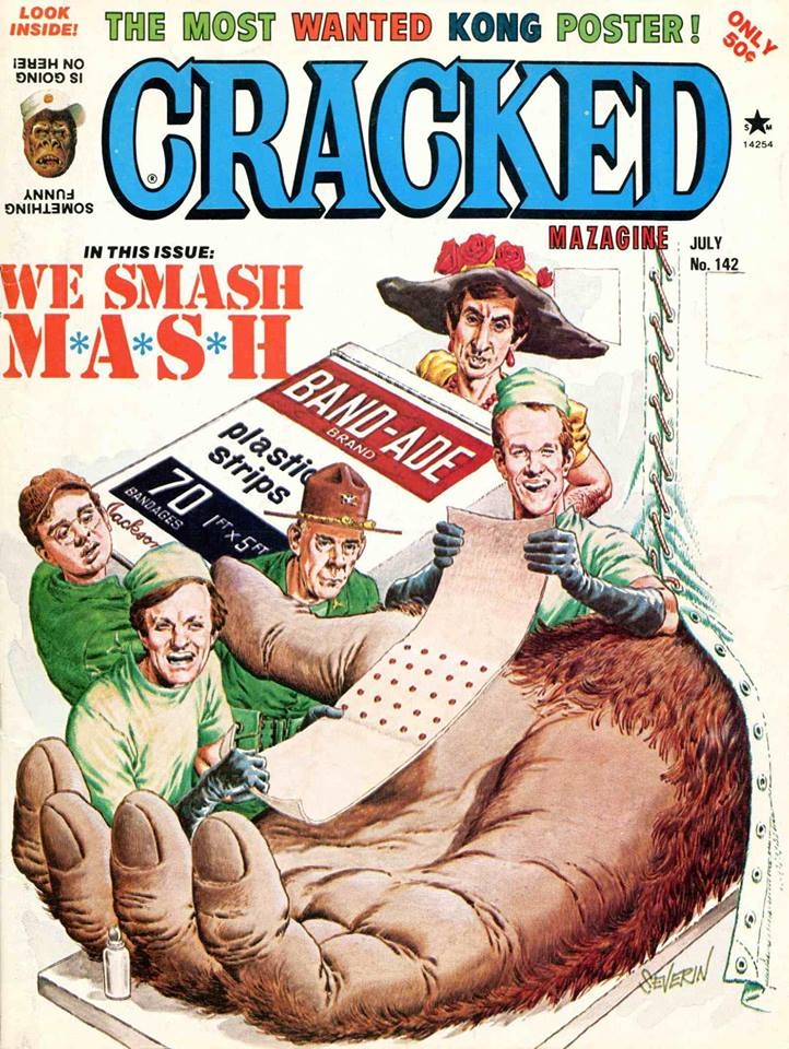 Cracked #142 • USA