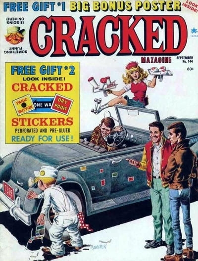 Cracked #144 • USA