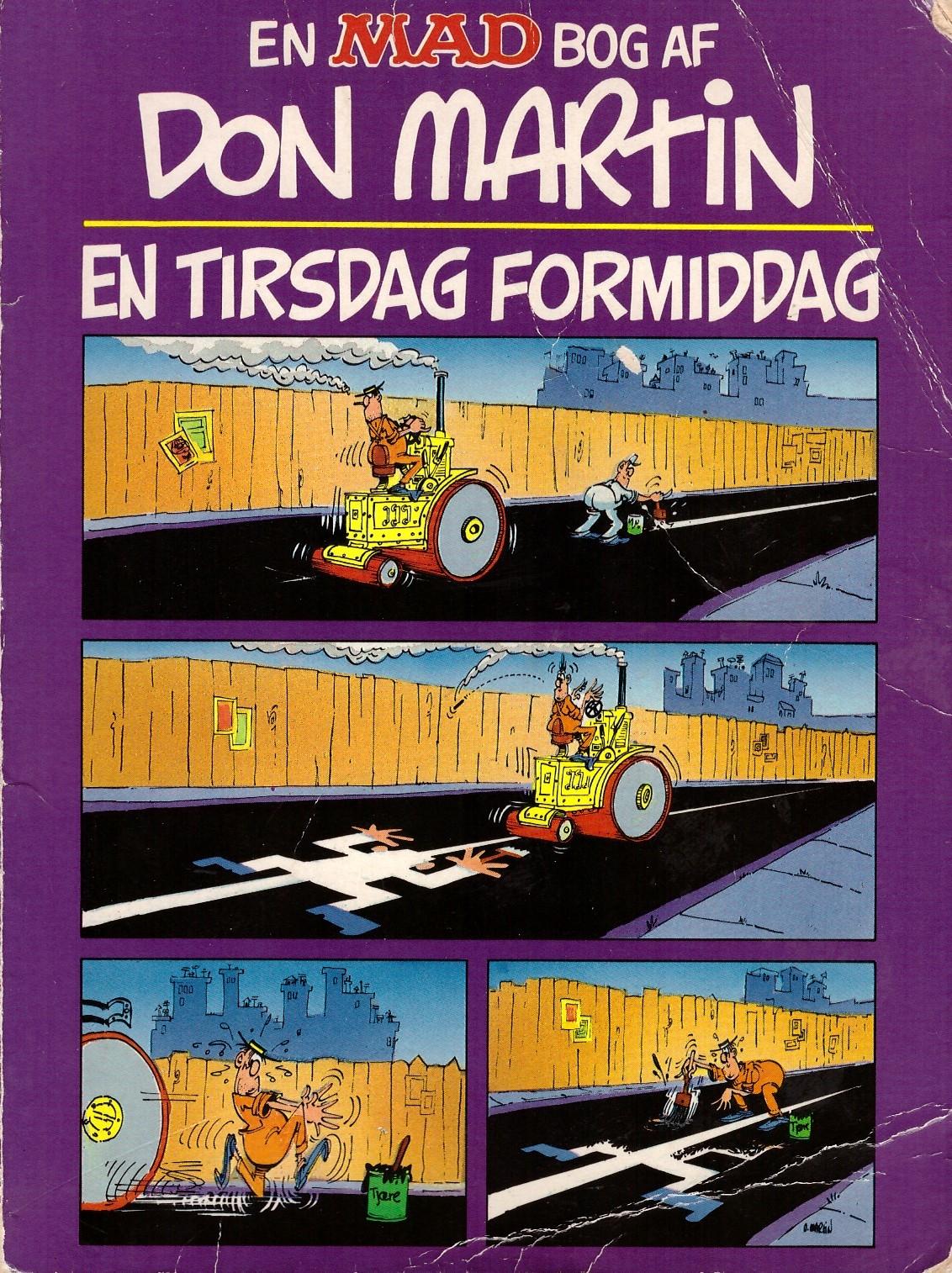 En MAD Bog Af Don Martin En Tirsdag Formiddag • Denmark