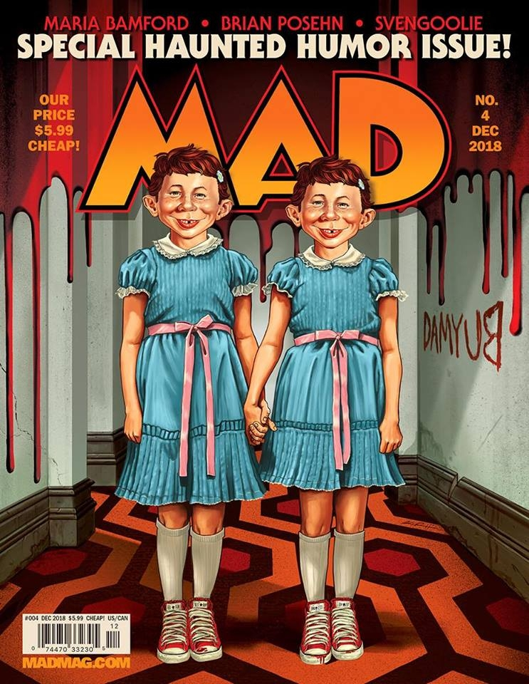 MAD Magazine #4 • USA • 2nd Edition - California
