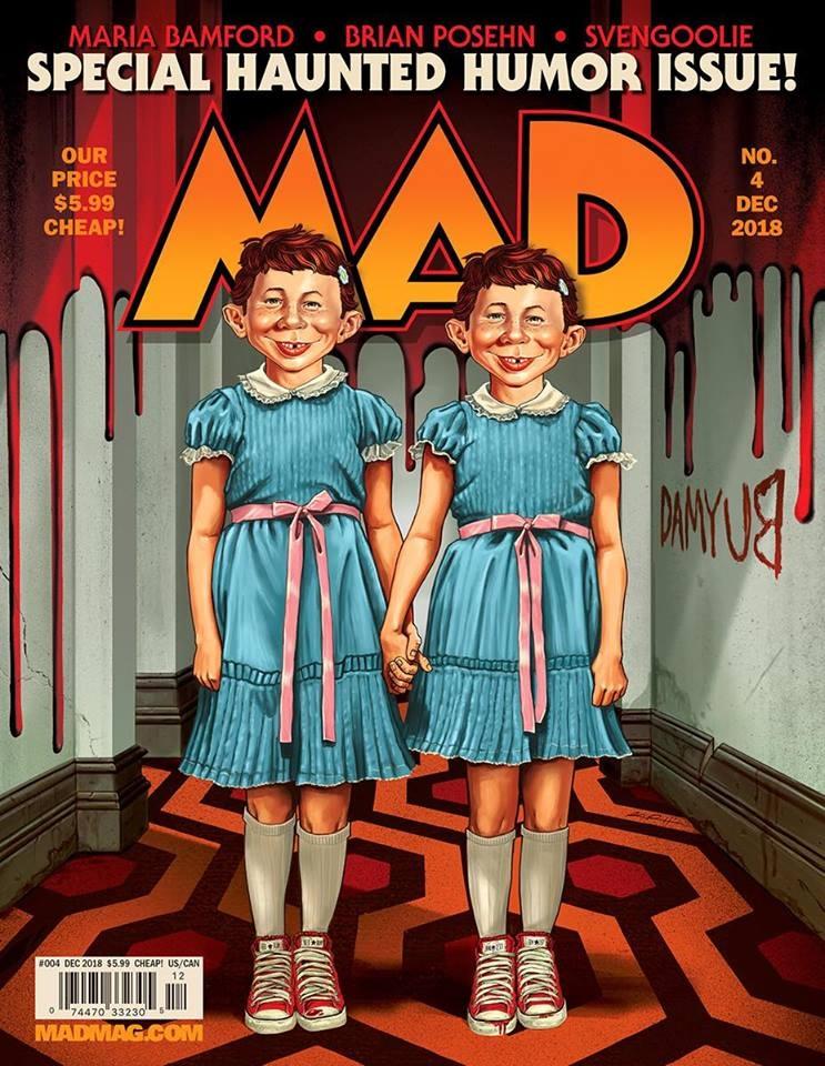 MAD Magazine #4 • USA • 2nd Edition - California