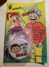 Wonder Squirt Badge with Alfred E. Neuman Badge