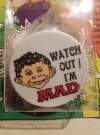 Image of Wonder Squirt Badge with Alfred E. Neuman Badge - Alfred E. Neuman Badge