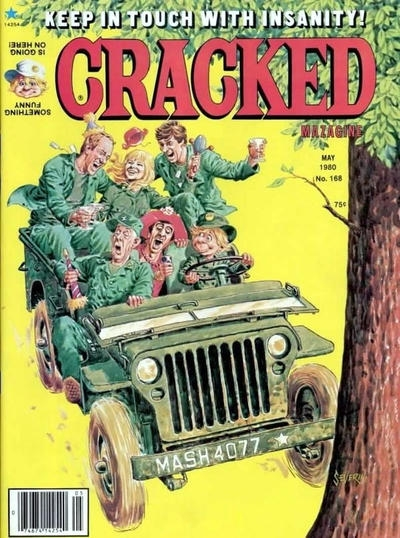 Cracked #168 • USA