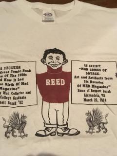 Go to MAD Shirt MAD Exhibit Bennett Barsk • USA