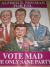 Alfred E. Neuman For Prime Minister Promotional Poster • Great Britain Publication Date: 1990