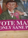 Image of Alfred E. Neuman For Prime Minister Promotional Poster