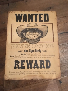 Poster Wanted Pre-MAD Alfred E. Neuman • USA