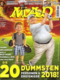 Go to MAD Magazine #185 • Germany • 2nd Edition - Dino/Panini