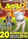 MAD Magazine #185 • Germany • 2nd Edition - Dino/Panini Original price: €3,50 Publication Date: January 2019