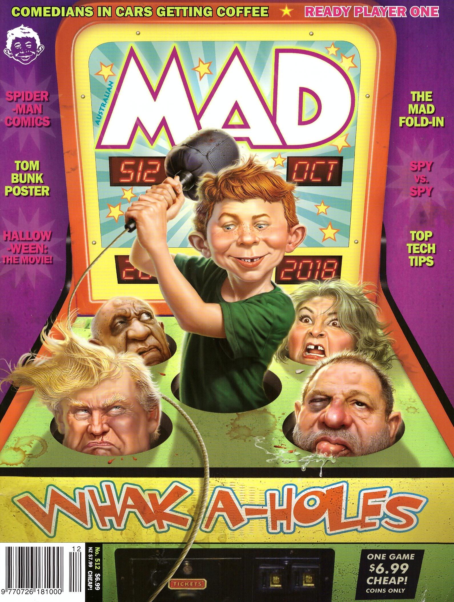 MAD Magazine #512 • Australia