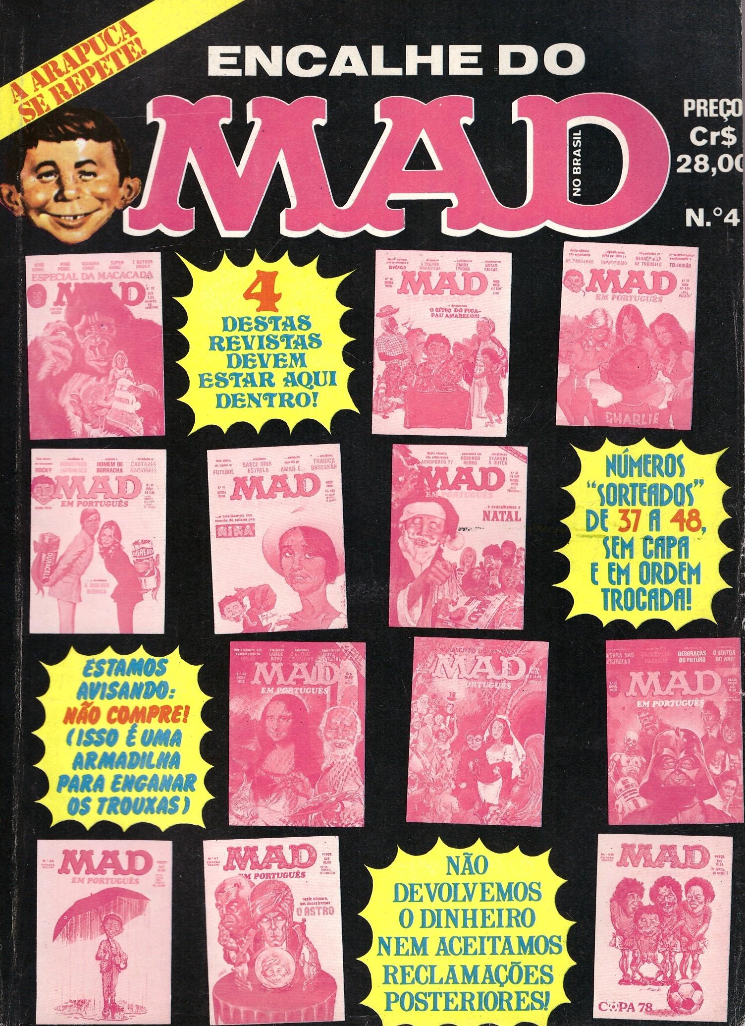 Encalhe do MAD (Vecchi) #4 • Brasil • 1st Edition - Veechi