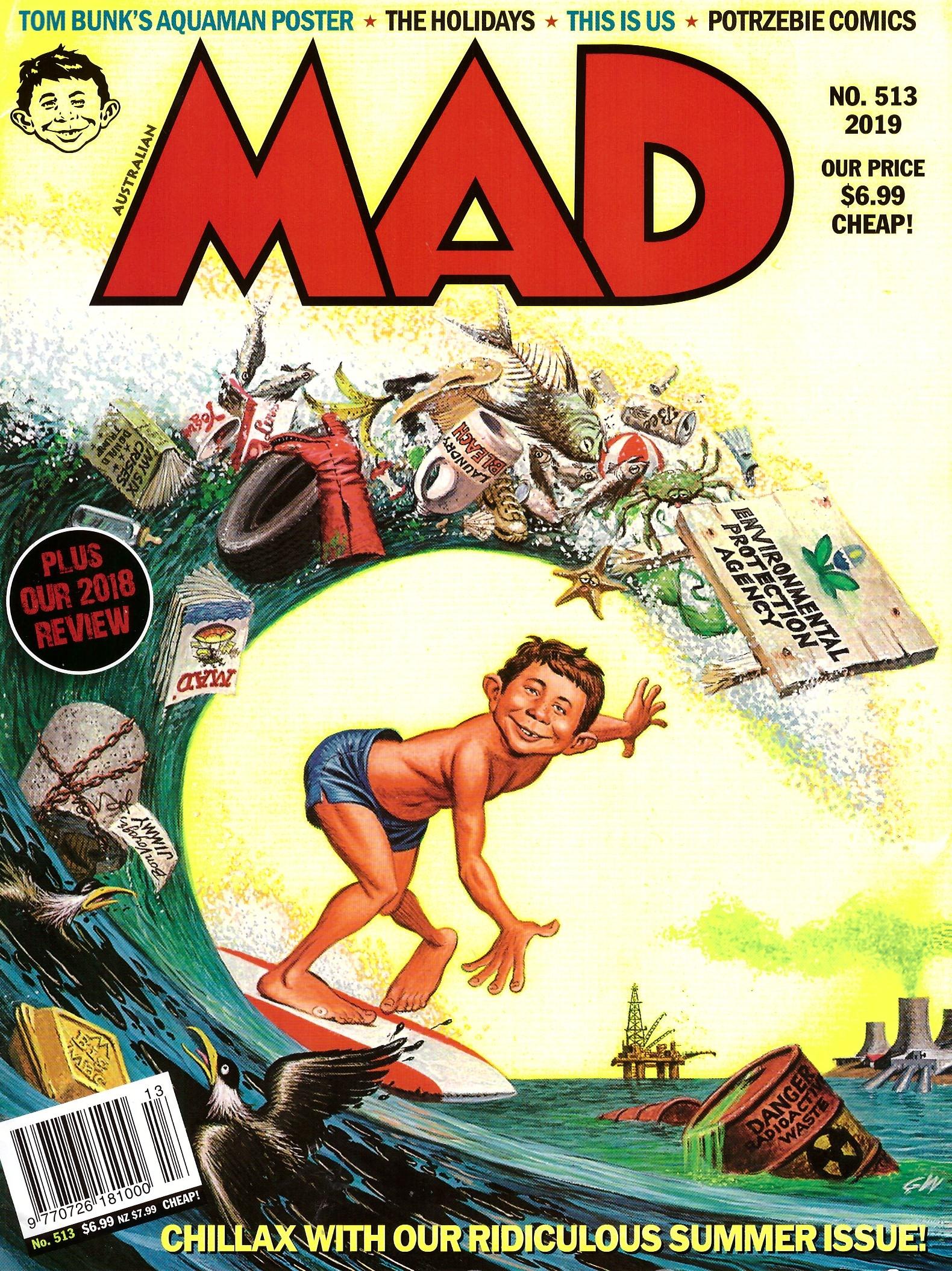 MAD Magazine #513 • Australia