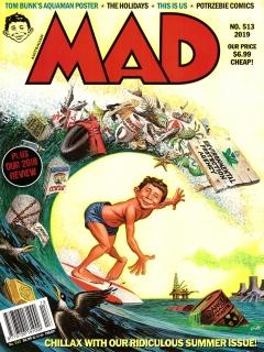 Go to MAD Magazine #513 • Australia