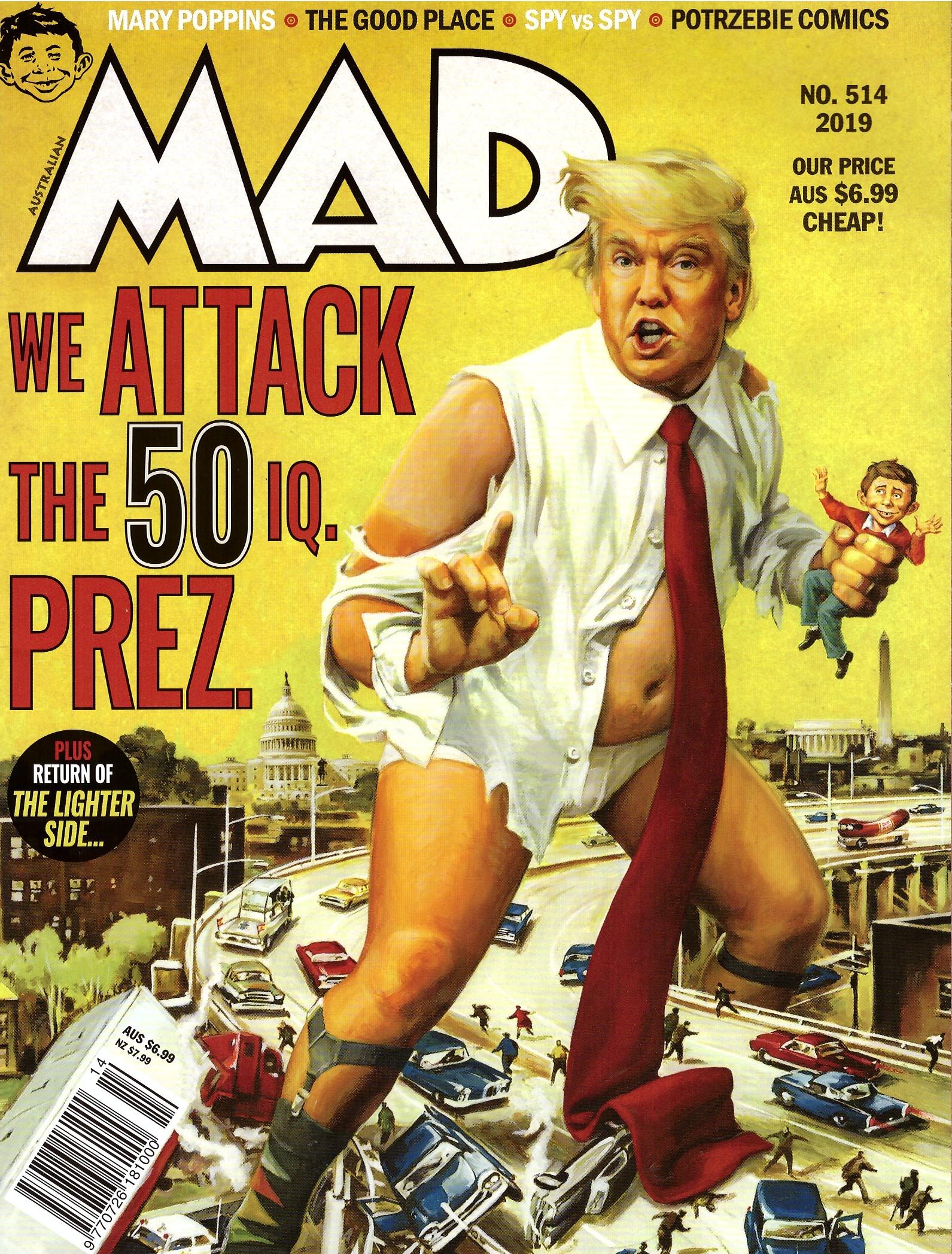 MAD Magazine #514 • Australia