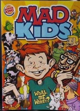 MAD Kids Burger King Promotional • USA • 1st Edition - New York