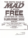 Image of MAD Special Edition Tang Promotional Issue - Subscription Cover