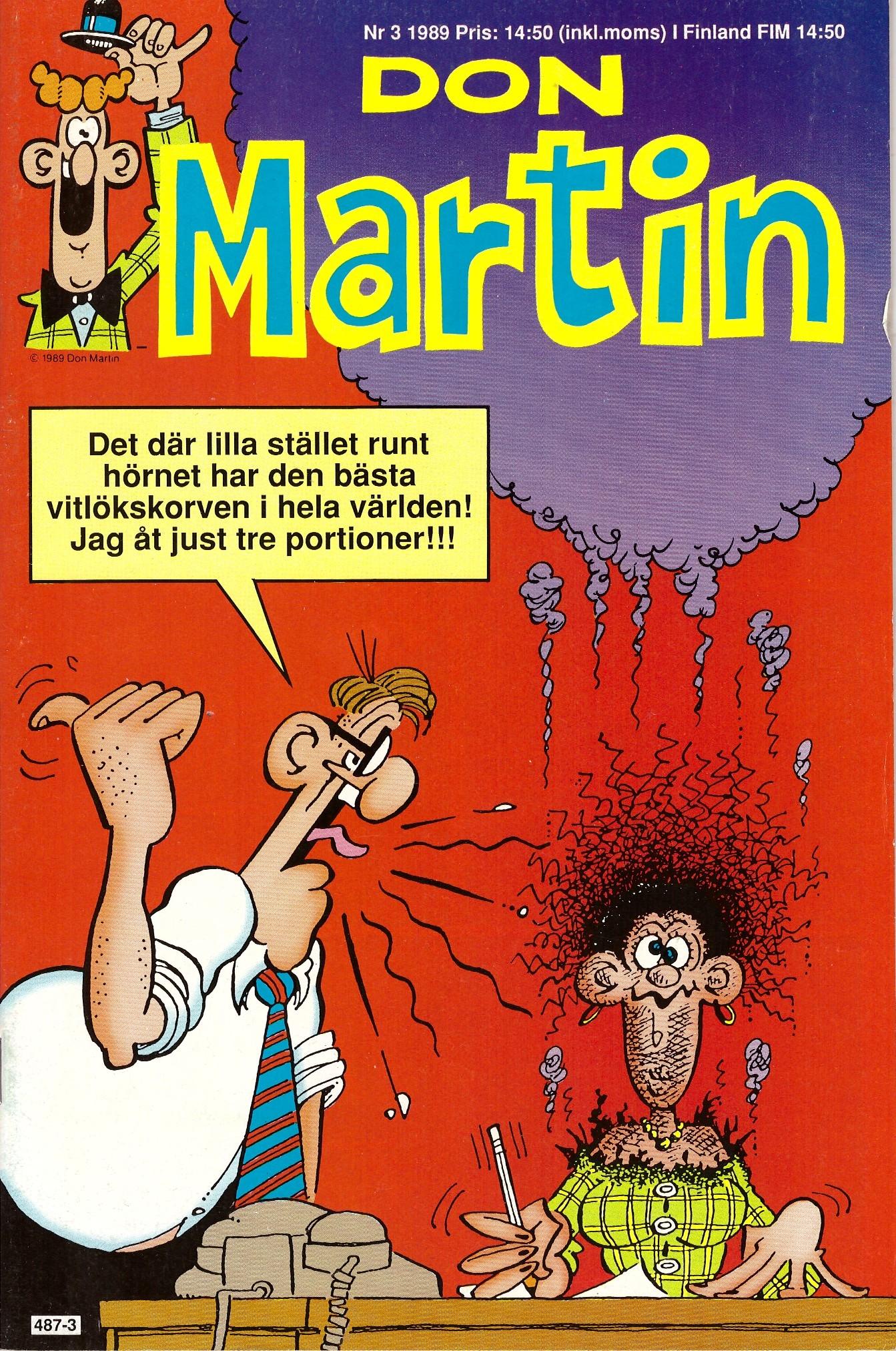 Don Martin #3 • Sweden