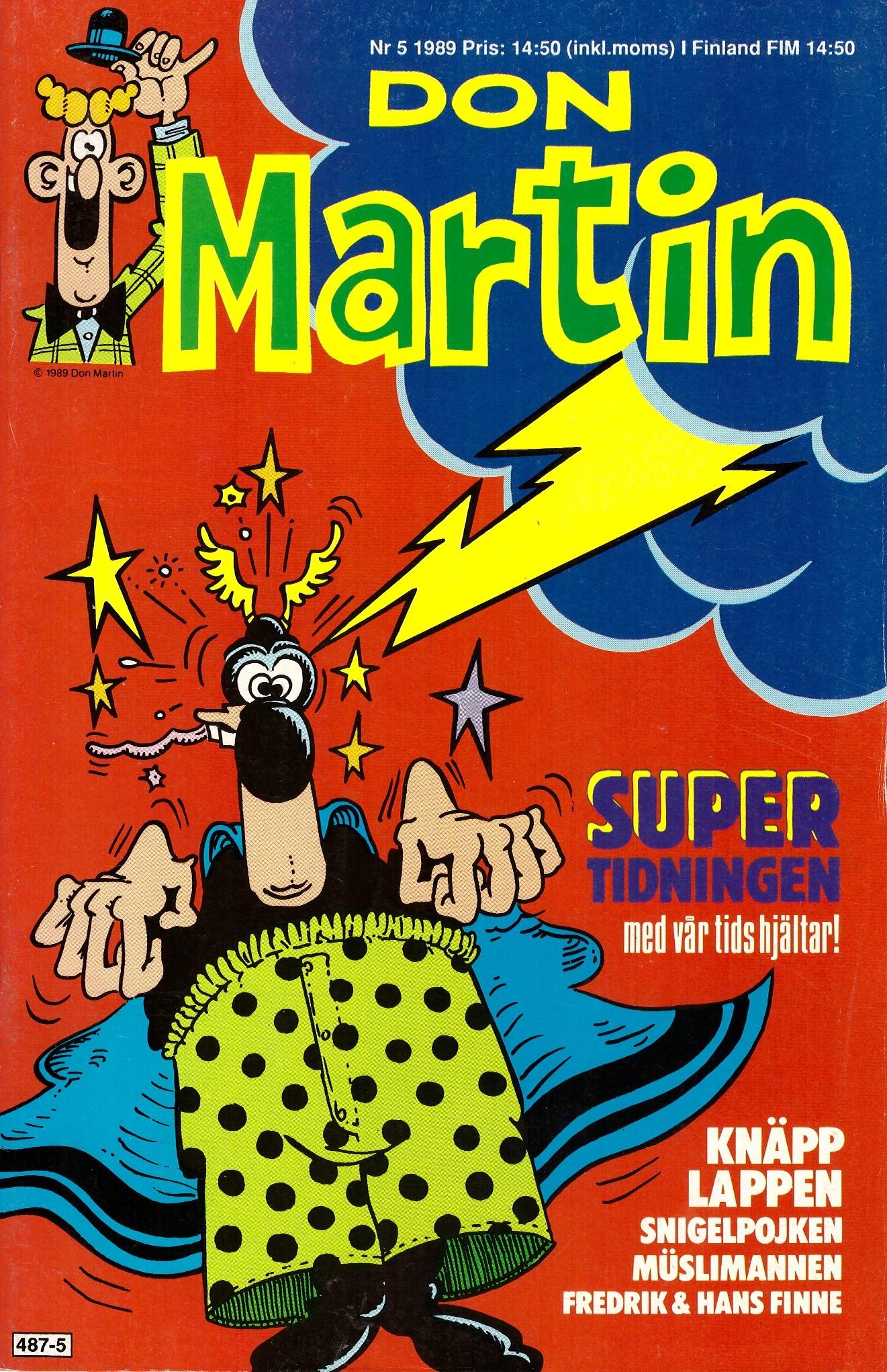 Don Martin #5 • Sweden