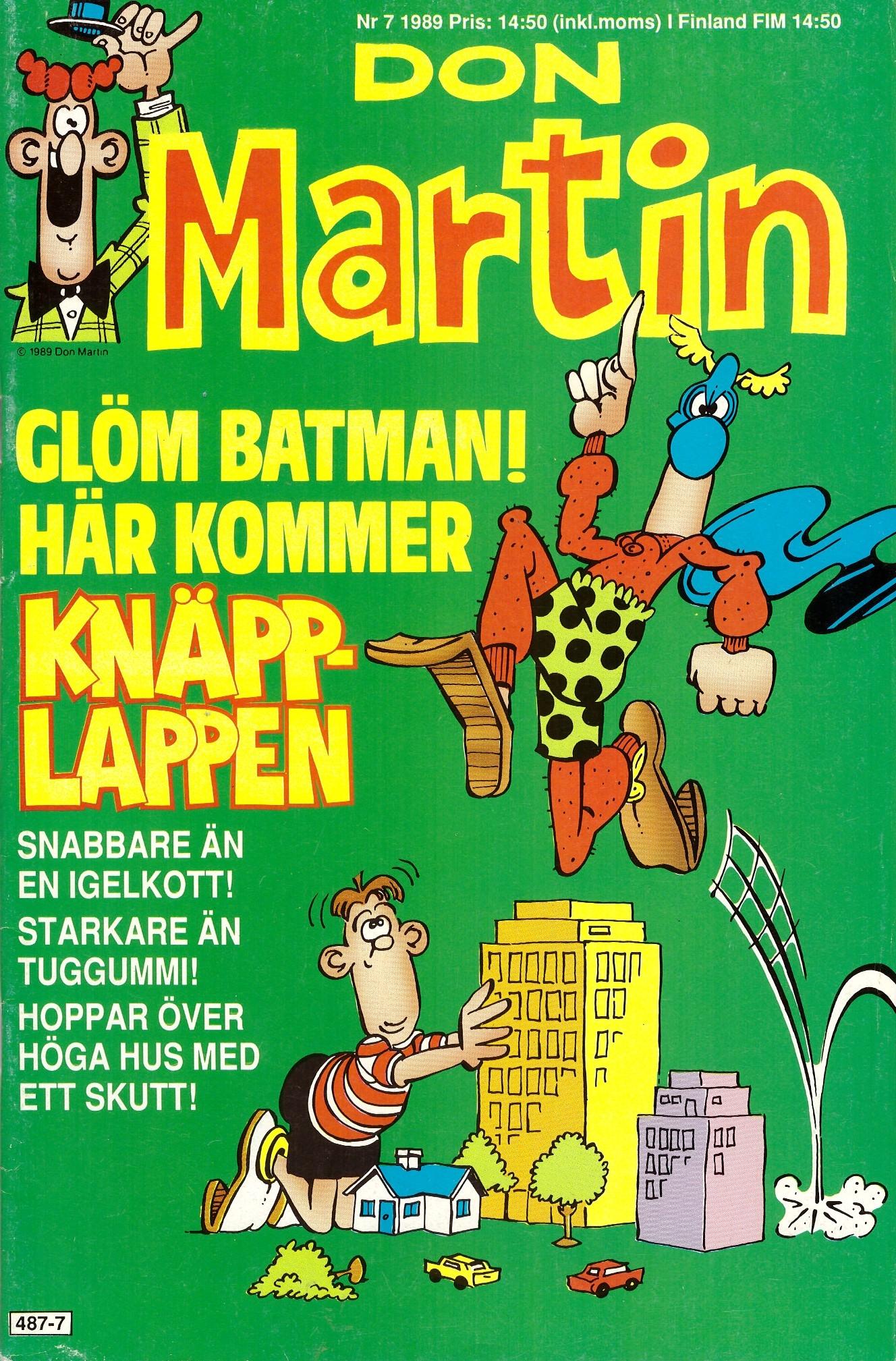 Don Martin #7 • Sweden