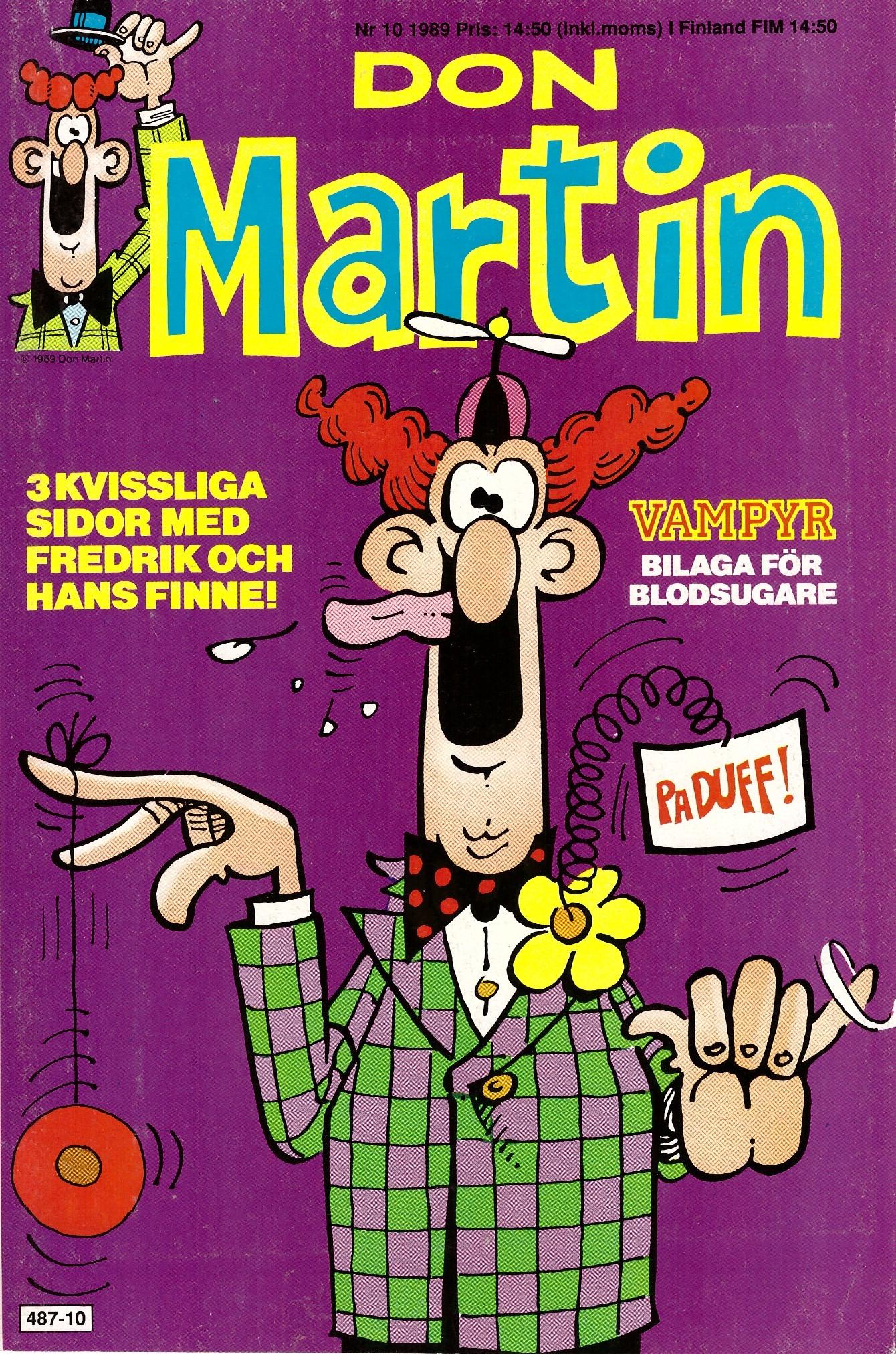 Don Martin #10 • Sweden
