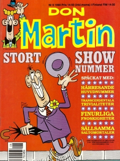 Go to Don Martin #6 • Sweden