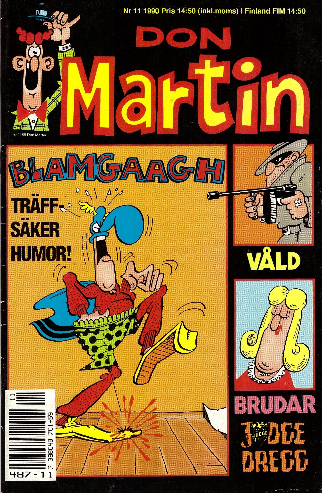 Don Martin #11 • Sweden