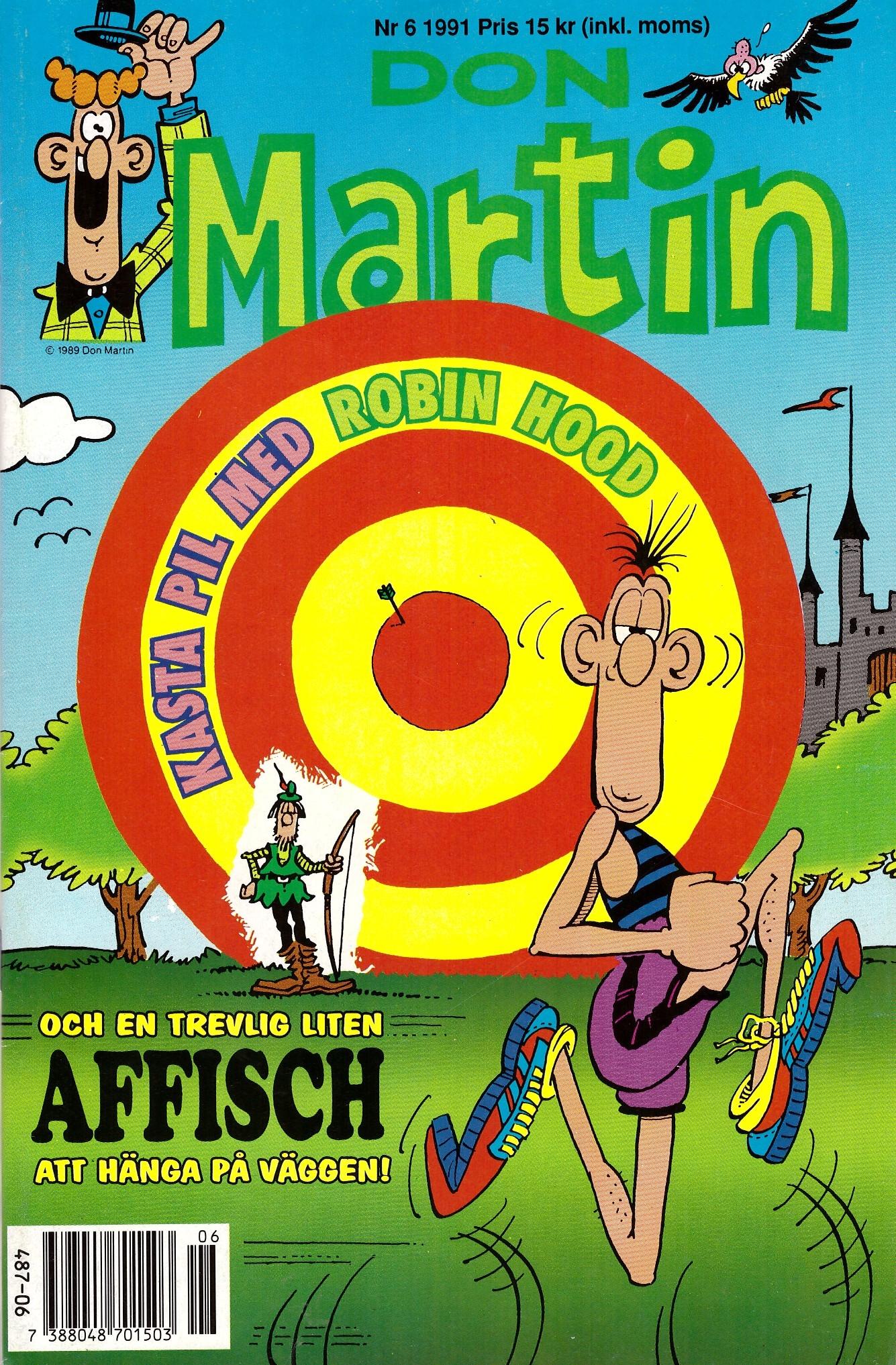 Don Martin #6 • Sweden