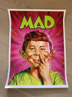 New MAD #1 Print Poster • USA