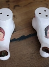 Japanese Foot Salt & Pepper Shakers • Japan