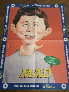 Polo Mint MAD Magazine Promotional Calendar • India