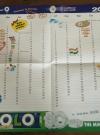 Image of Polo Mint MAD Magazine Promotional Calendar - Back side