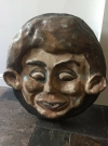 Fibreglass Ornament - Alfred E Neuman Face • Great Britain