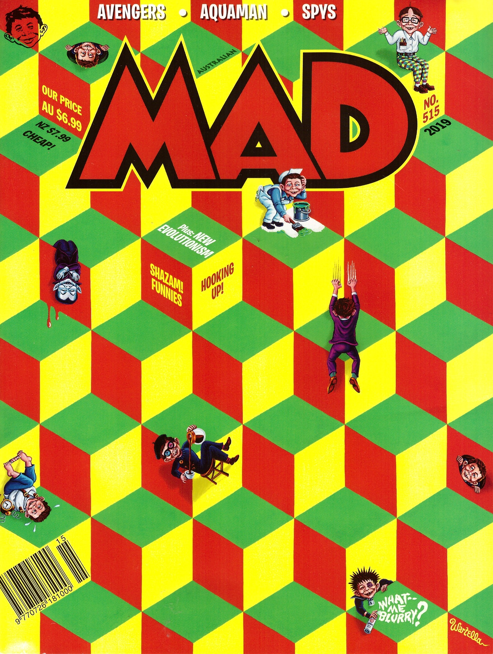 MAD Magazine #515 • Australia