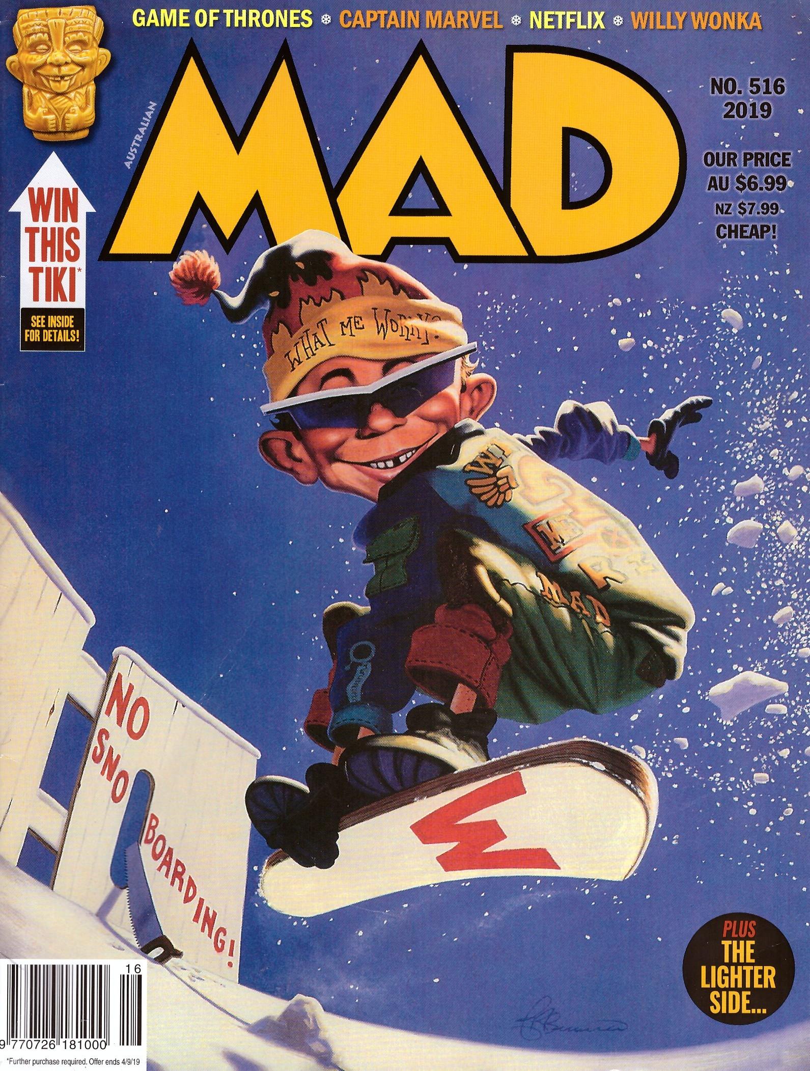 MAD Magazine #516 • Australia