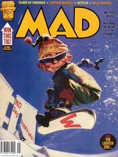 Go to MAD Magazine #516 • Australia
