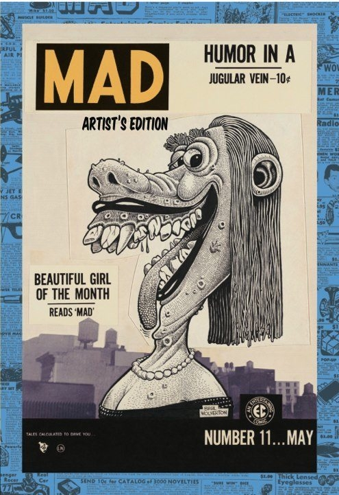 MAD: Artist's Edition HC Variant • USA • 1st Edition - New York