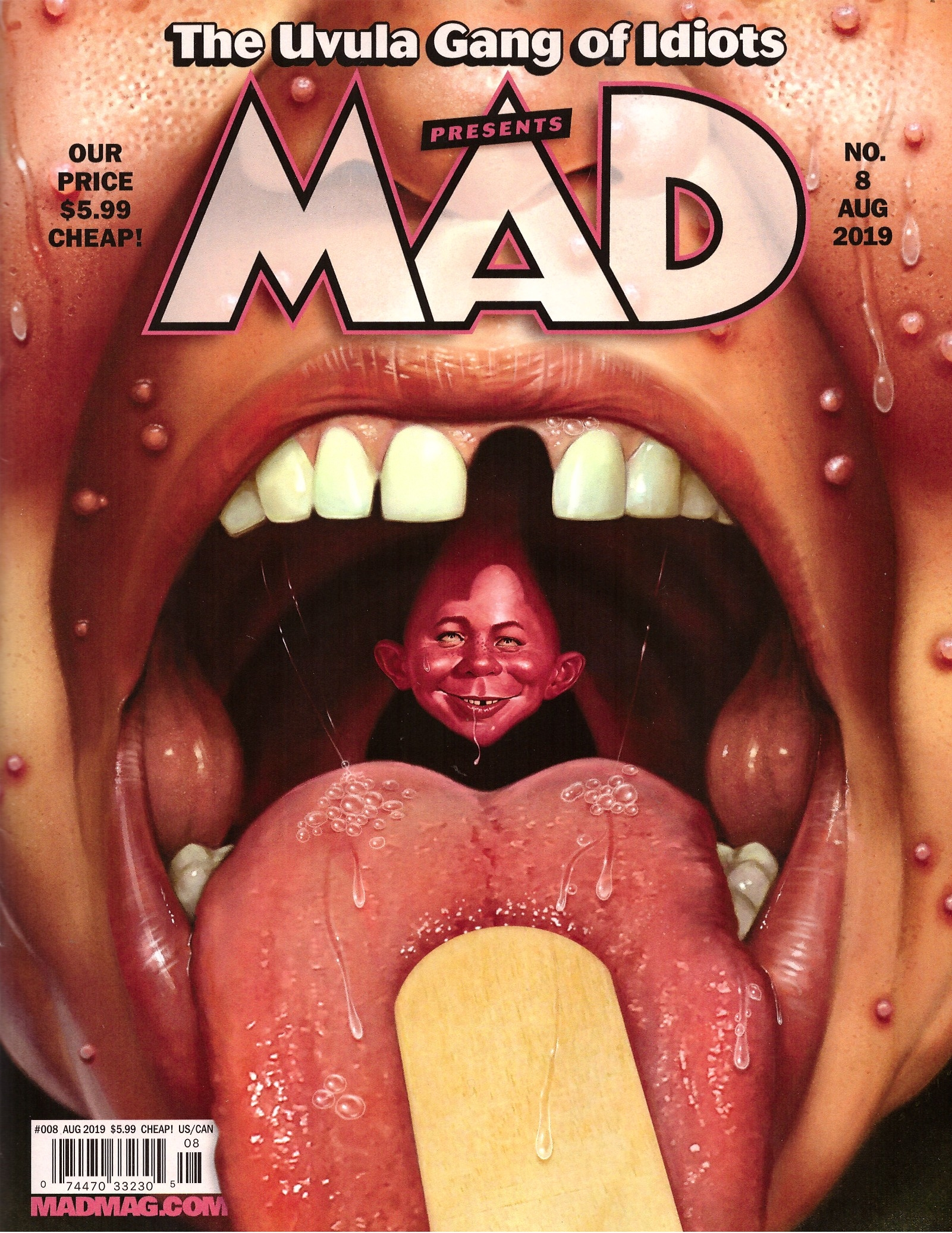 MAD Magazine #8 • USA • 2nd Edition - California