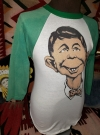 Image of Longsleeve with pre MAD Alfred E. Neuman face
