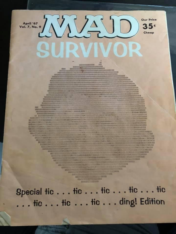 School Yearbook MAD Survivor • USA