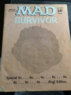 School Yearbook MAD Survivor • USA