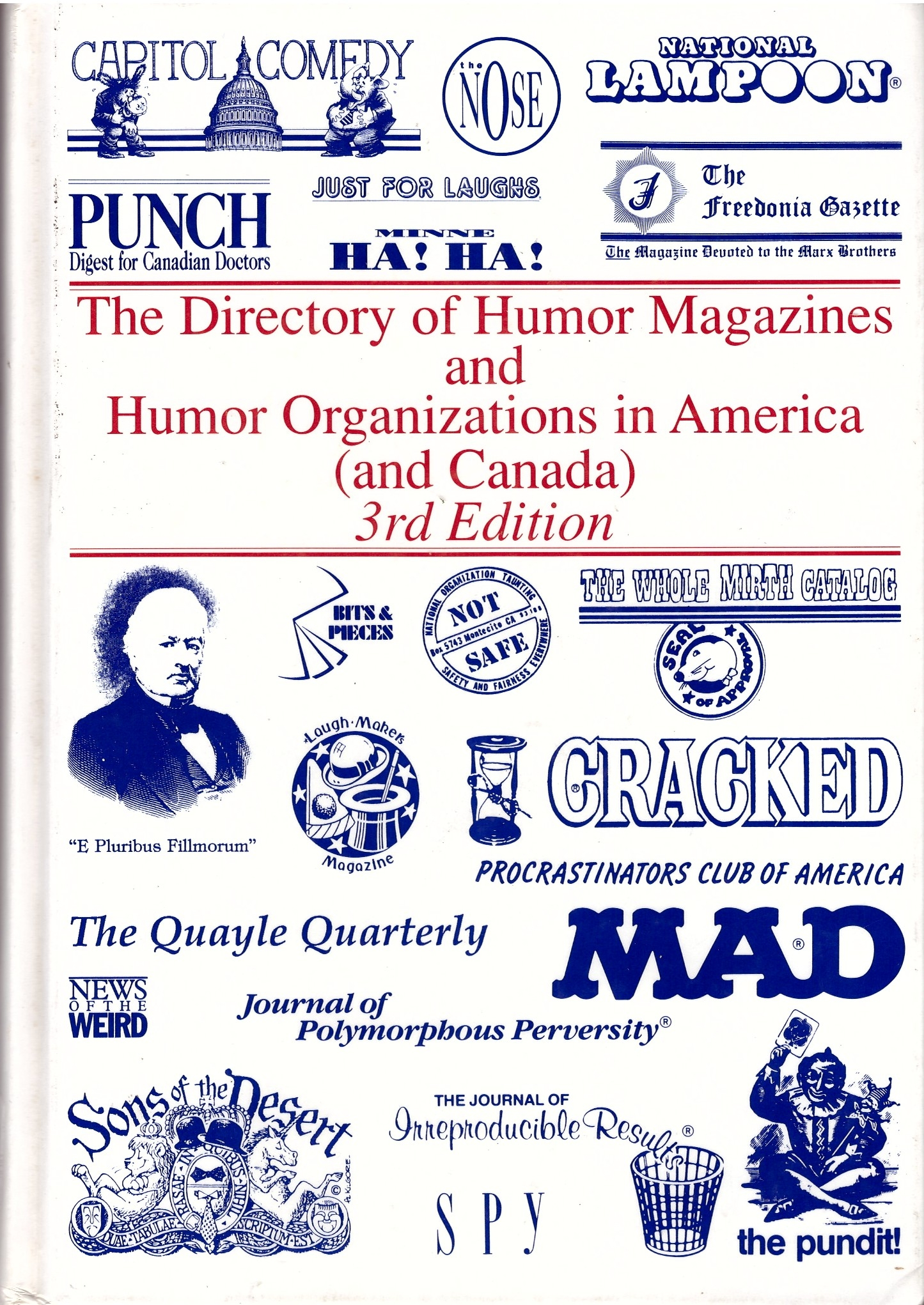 The Directory of Humor Magazines and Humor Organizations in America • USA