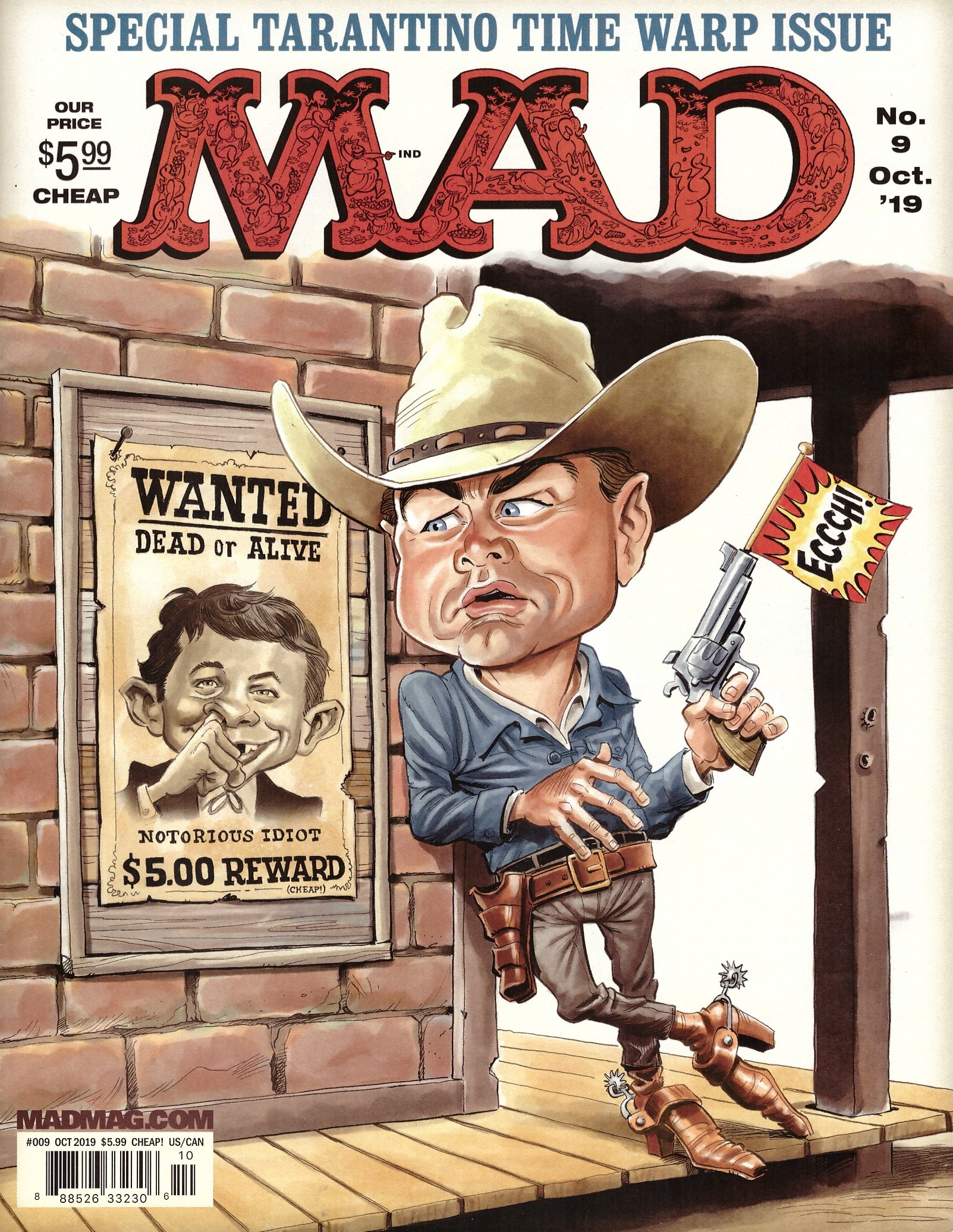 MAD Magazine #9 • USA • 2nd Edition - California